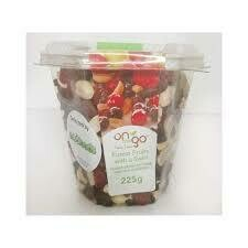 ON THE GO 225G - FOREST FRUITS WITH SWIRL