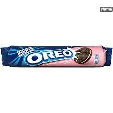 OREO STRAWBERRY CHEESECAKE SANDWICH BISCUIT 154G