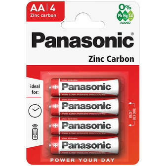 PANASONIC BATTERIES AA 4S