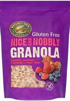 NATURE'S PATH GLUTEN FREE GRANOLA MIXED B 312G