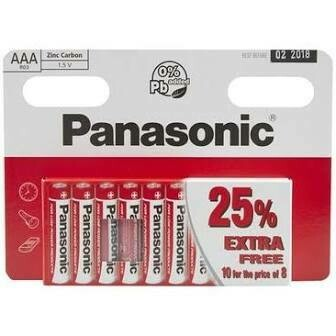 PANASONIC AAA 10 PACK