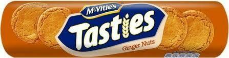 MCVITIES TASTIES GINGER NUTS 300G