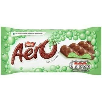 NESTLE AERO PEPPERMINT BAR 100G