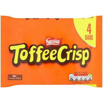 NESTLE TOFFEE CRISP 4X31G