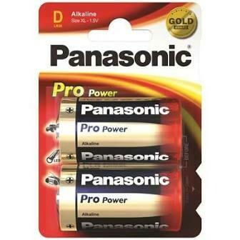PANASONIC BATTERIES D 2S