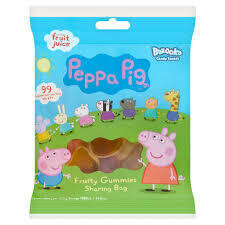 PEPPA PIG FRUITY GUMMIES GF 120G