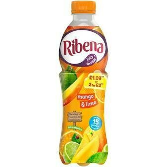 RIBENA MANGO N LIME  500ML