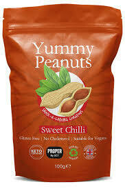 PROPERS PEANUT POUCHES SWEET CHILLI 100G