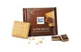 RITTER BUTTER BISCUIT IN MILK CHOCOLATE 100G