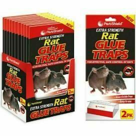 PETSHIELD RAT GLUE TRAP 2PK