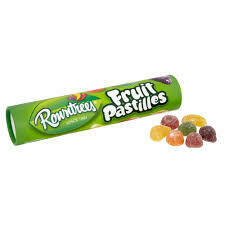 ROWNTREE FRUIT PASTILLE TUBE 125G