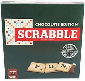 SCRABBLE CHOCOLATE EDITION 90G