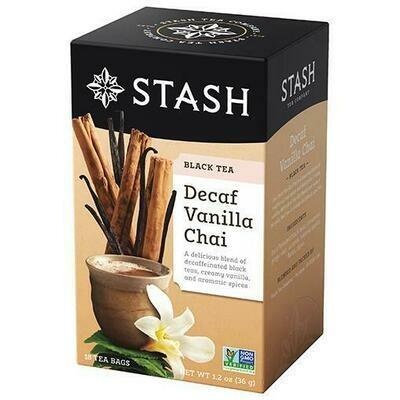 STASH DECAF VANILLA CHAI TEA