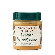 STONEWALL - CREAMY ALMOND BUTTER  10 OZ