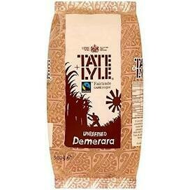 TATE AND LYLE DEMERARA  500G