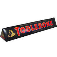 TOBLERONE DARL CHOCOLATE BAR 360G