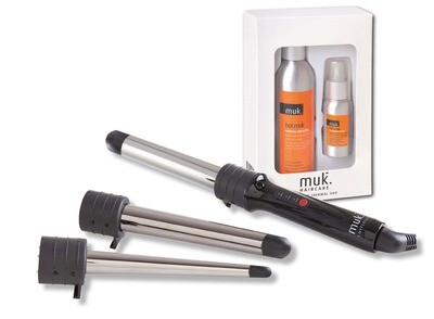 MUK Curling Wand with FREE Hot MUK Duo Pack