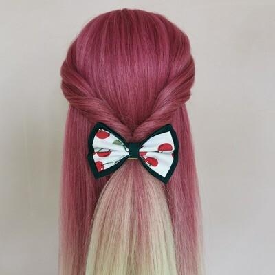 Cherries Hair Bow