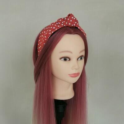 Red Polka Dot Headband