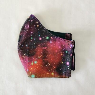 Pink Galaxy Mask