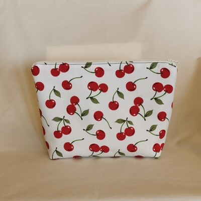 Cherries Make Up Bag