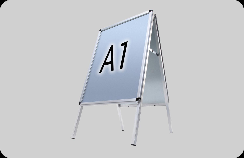 Aluminium Kundenstoper Premium