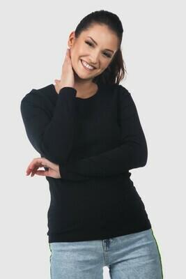 Damen langarm stretch T-Shirt Switcher Liliane