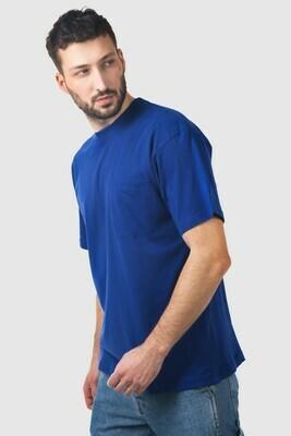 Kurzarm T-Shirt Whale mit Brusttasche