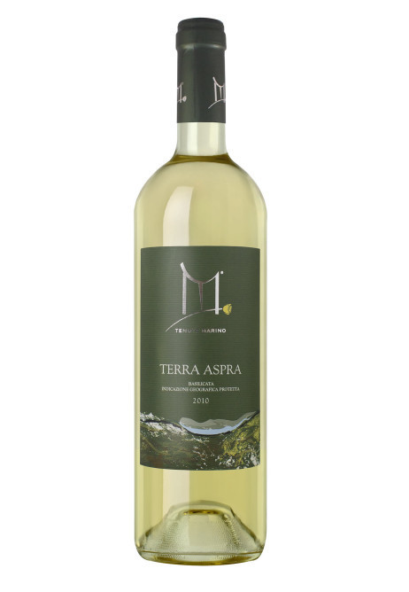 Terra Aspra Rosa Gialla - Vino bianco Aglianico - IGP Basilicata - 6 bottiglie da 750 ml