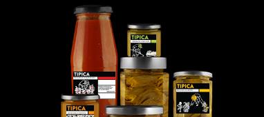 Vasetti di verdure sottolio (ortolana, pomodorini secchi, rape, zucchine) - 4 x 314 ml