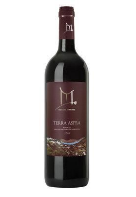 Terra Aspra 2008 Rosa Bianca - Vino rosso Aglianico - IGP Basilicata - 6 bottiglie da 750 ml