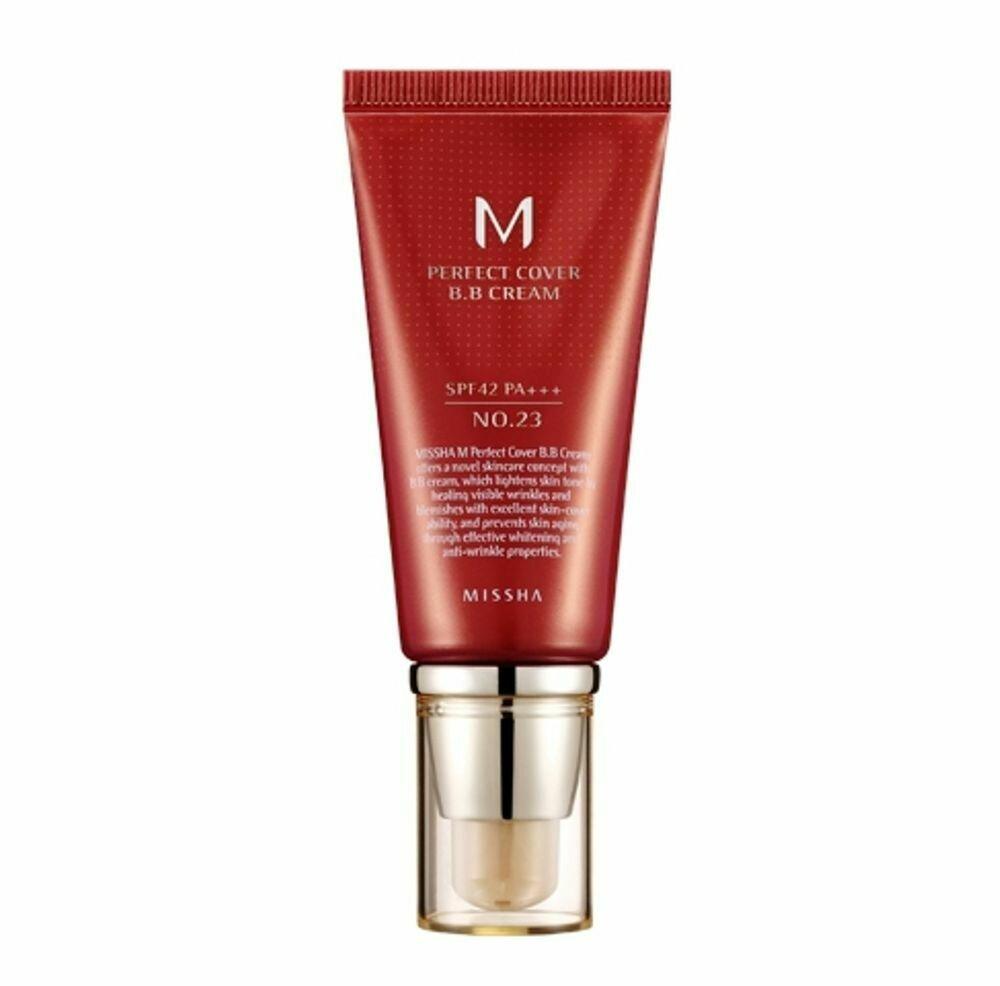 ББ-крем MISSHA M Perfect Cover BB Cream #21 (Light Beige)