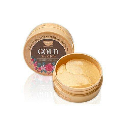 Гидрогелевые патчи для кожи вокруг глаз с золотом и маточным молочком KOELF Gold & Royal Jelly H