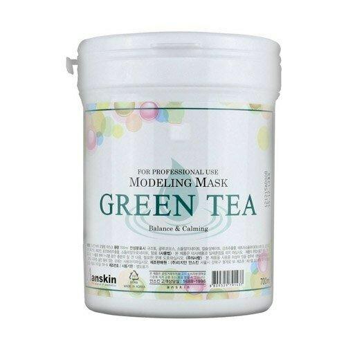 АН Original Маска альгинатная с экстрактом зеленого чая успокаивающая (банка) 700мл Green Tea Modeling Mask