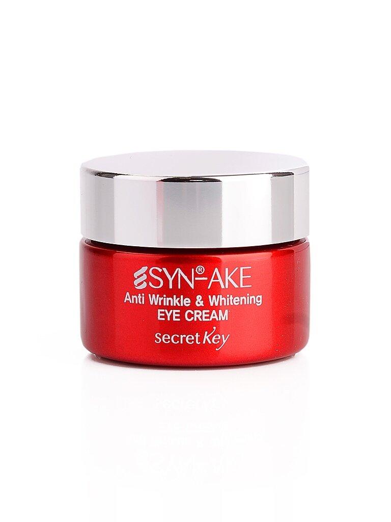 Крем для кожи вокруг глаз со змеиным ядом SECRET KEY Syn-Ake Anti Wrinkle & Whitening Eye Cream