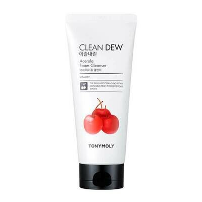 Пенка для умывания TONY MOLY Clean Dew Acerola Foam Cleanser, 180 мл.