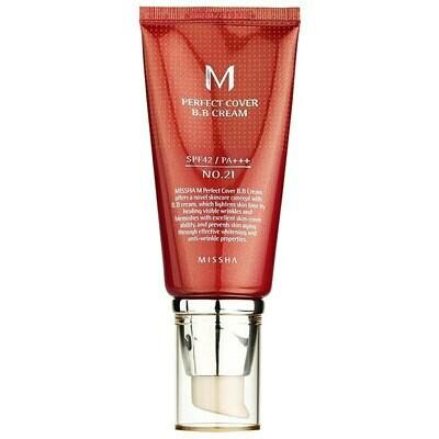 ББ-крем MISSHA M Perfect Cover BB Cream #21 Light Beige