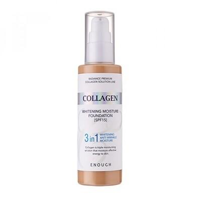 Тональная основа Enough Collagen Whitening Foundation SPF15 (100 мл) #13