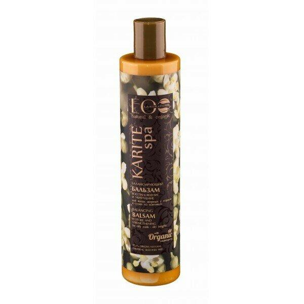 Бальзам Эколаб (EcoLab) Karite SPA для волос балансирующий Восстановление и Укрепление