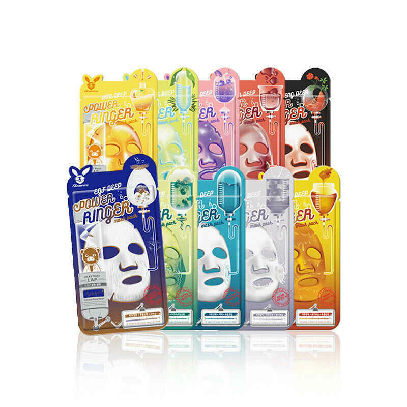 Серия тканевых масок Elizavecca Deep Power Ring Mask Pack