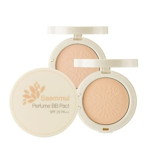 СМ Saemmul 23т Пудра компактная ароматизированная Sammul Perfume BB Pact SPF25 PA++
