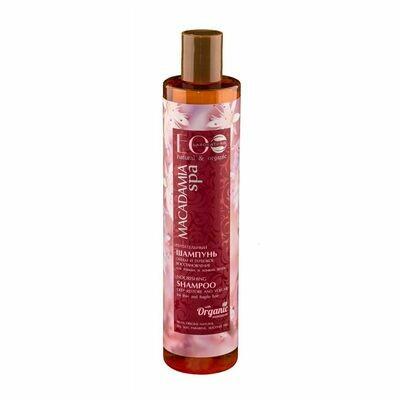 ECOLAB Питательный шампунь для волос Макадамия, 350 мл