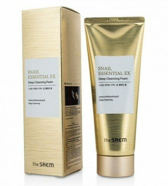 СМ Snail Essential Пенка для умывания Snail Essential EX Wrinkle Solution Deep Cleansing Foam 150гр