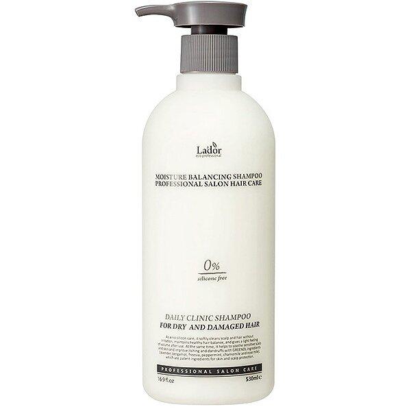 LADOR Увлажняющий шампунь для сухих и поврежденный волос 530мл