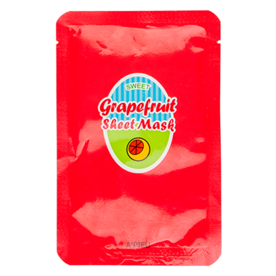 A'Pieu Маска тканевая с экстрактом грейпфрута 23 г
