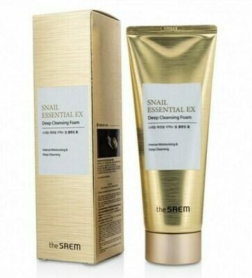 СМ Snail Essential Пенка для умывания Snail Essential EX Wrinkle Solution Deep Cleansing Foam 150гр