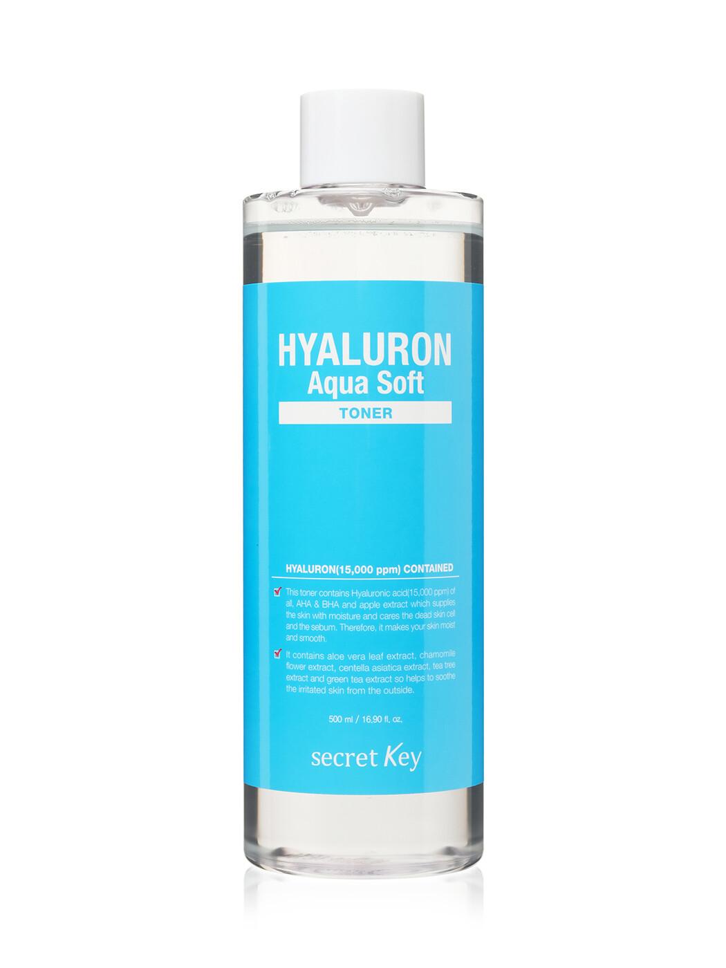 Secret Key Гиалуроновый тонер Hyaluron Aqua Soft Toner