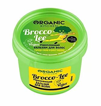 ORGANIC KITCHEN Бальзам для волос Укрепляющий Brocco-lee 100мл