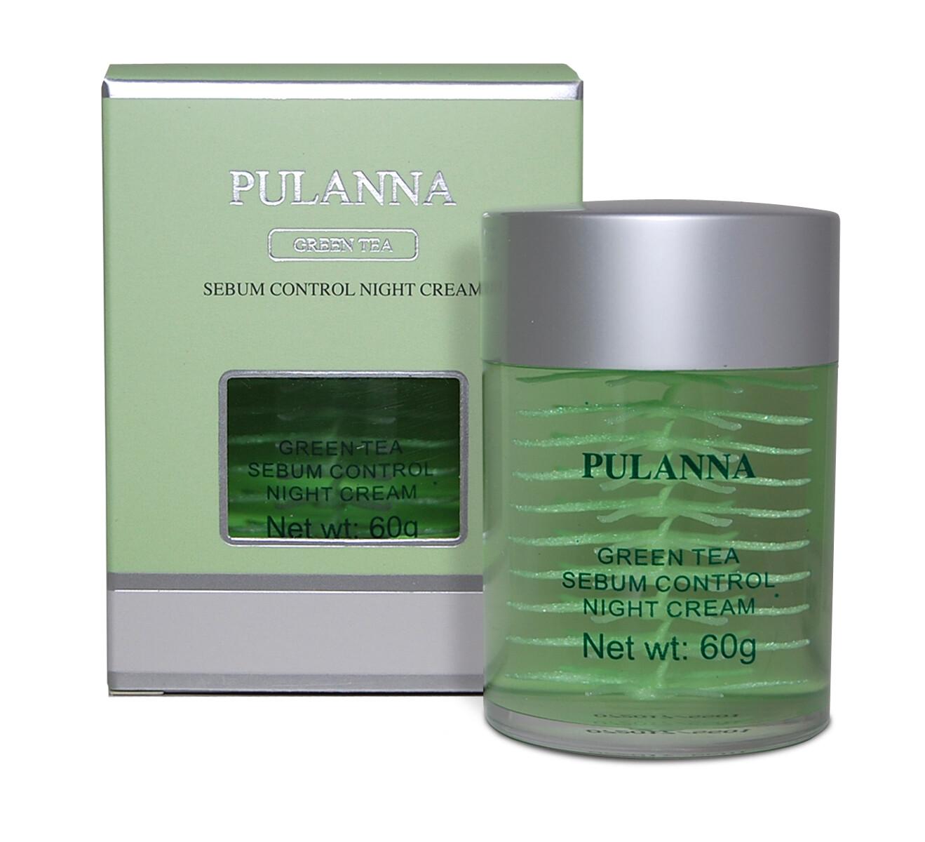 Pulanna Ночной крем себум-контроль-Sebum Control Night Cream 60г