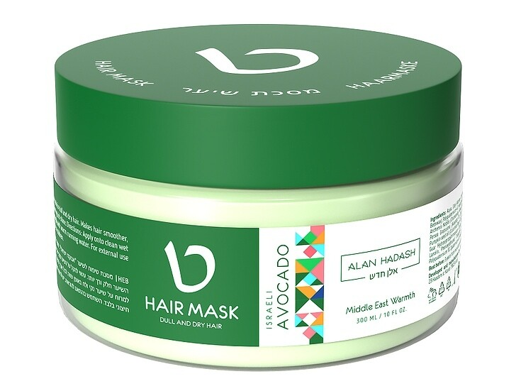 "МАСКА для волос ""Israeli Avocado"" 300 мл ТМ ""Alan Hadash"""